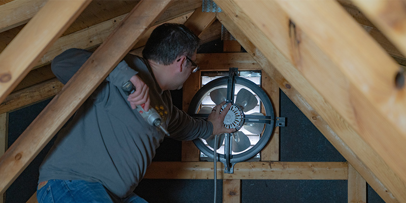 What Is An Attic Fan And What Does An Attic Fan Do