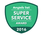 Angie's List Super Service 2016 Award