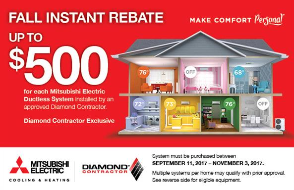 Aire Serv Fall Instant Rebate Discount