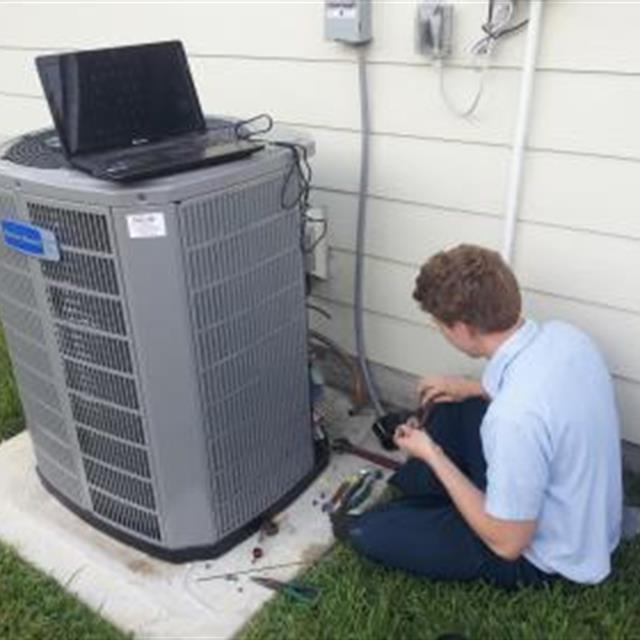 Installing American Standard 20 Seer Communicating High Efficiency System