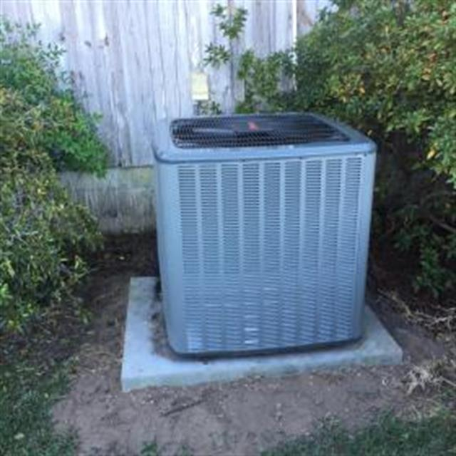This is the brand new 16 SEER single stage heat pump condenser that has a unit replacement warranty.