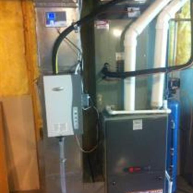 New Furnace installation in an existing home... Save Energy!