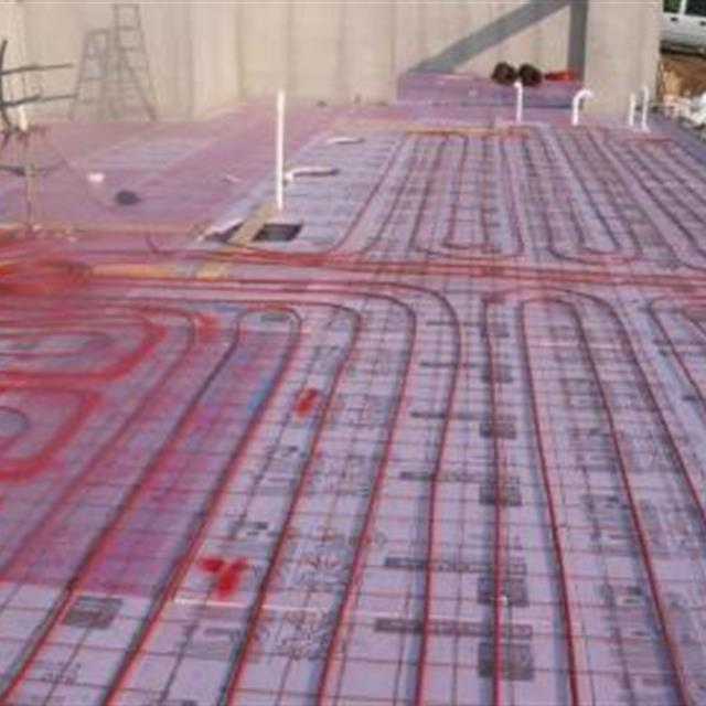 Radiant Floor Heating System in a New Home... Comfortable!
