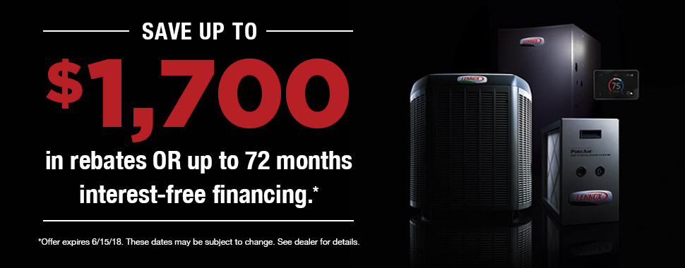 Save up to $1700 in rebates or up to 72 months interest-free financing