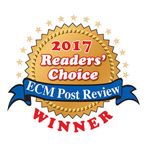 ECM Post Review Readers' Choice 2017 Winner