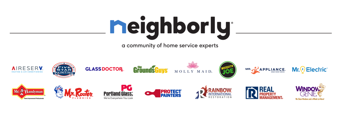 Full color, full suite of Neighborly company logos - horizontal