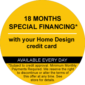 18 Months Special Financing