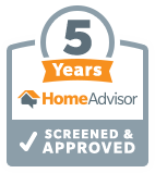 HomeAdvisor: 5 Years Screened & Approved