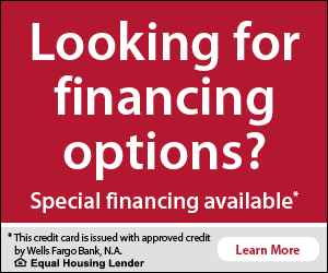 Looking for financing options?