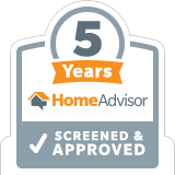 5 Years Home Advisor Approved