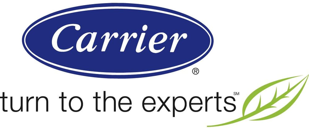"Carrier logo ""turn to the experts"""