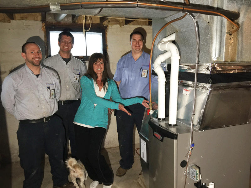 Aire Serv Gifts New Furnace