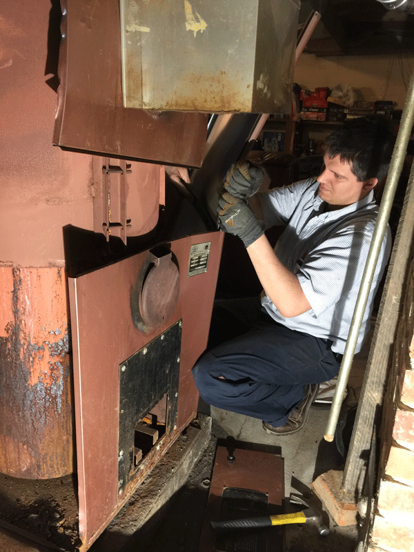 Aire Serv of East Central Oldest Furnace Removal Process