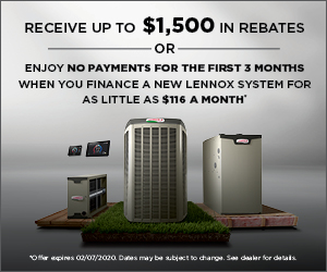 Lennox Winter Promotion