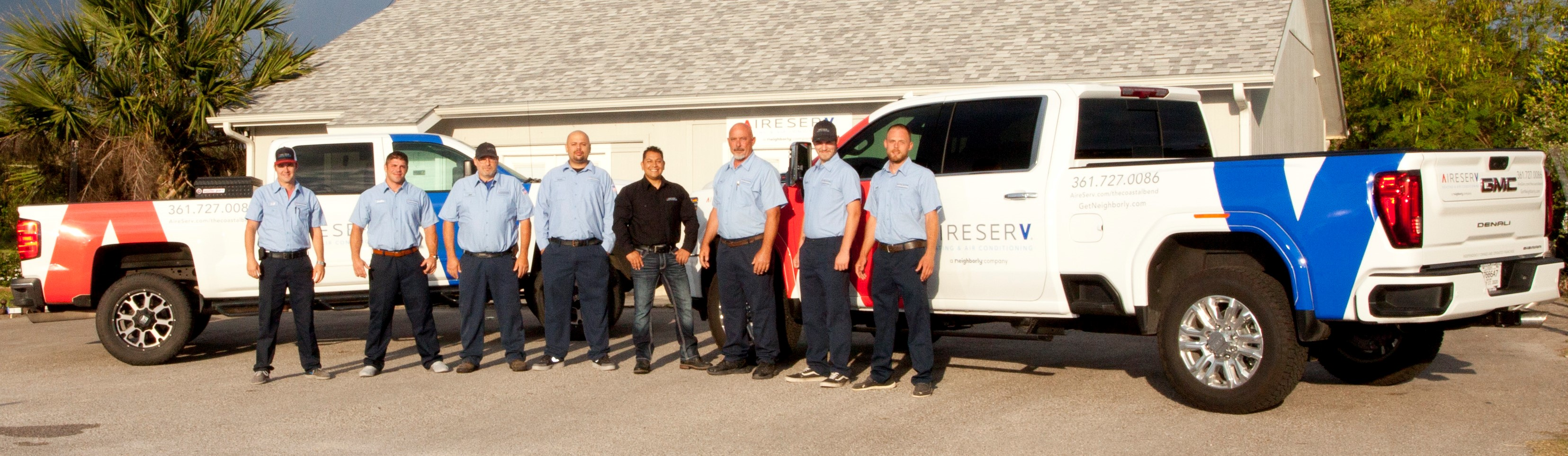 Aire Serv of the Coastal Bend Team Photo