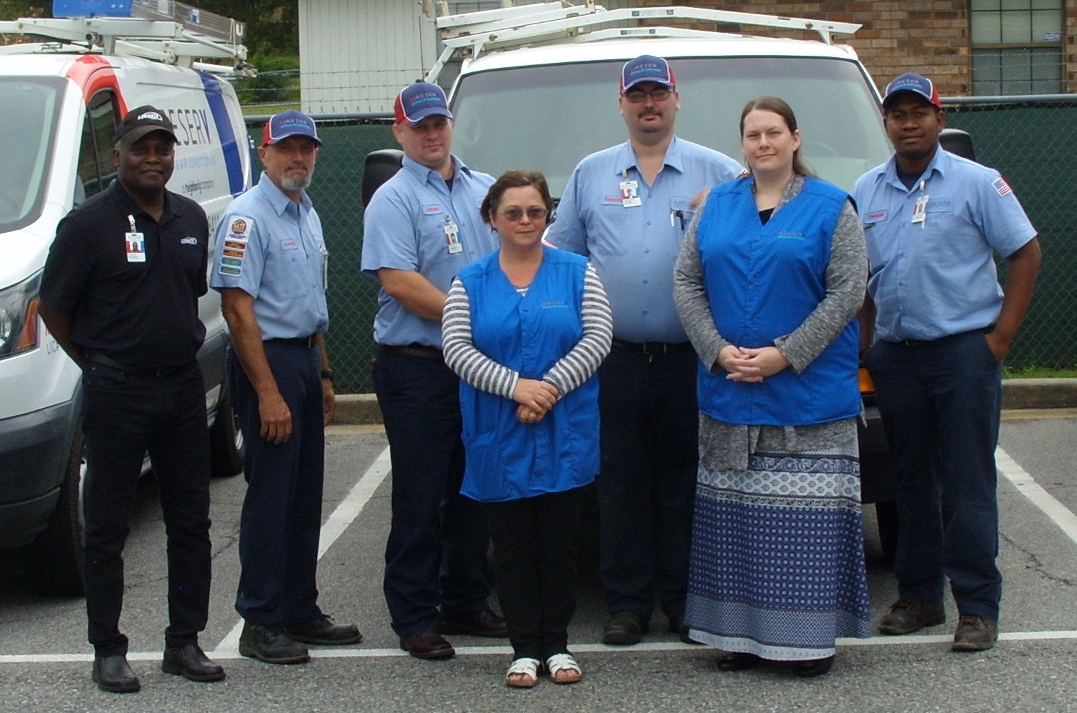 Aire Serv of Hinesville Team Photo