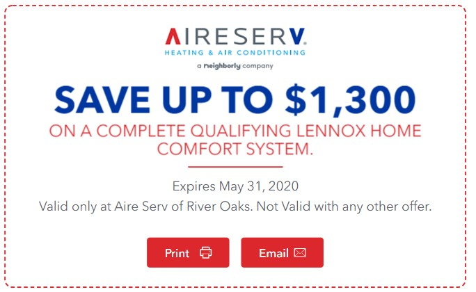 Lennox Rebate Coupon
